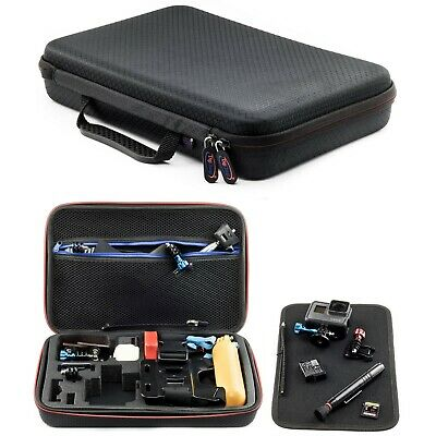 Carry Case For GoPro Hero 6 5 4 3+ 3 2 Action Camera Go Pro HD Large Digicharge