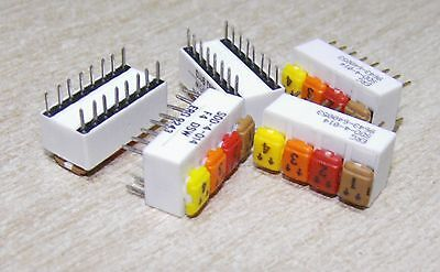 5 x ERG SDD-4-014  4 x DPST DIP switch