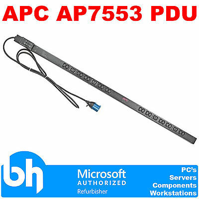 APC AP7553 PDU Power Distribution Unit Strip Zero U, 0U, 230V,