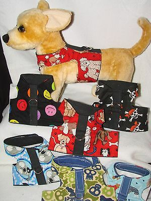Dog &Cat Harness,Vest Size XSMALL Adorable, more colors & sizes in e-bay store