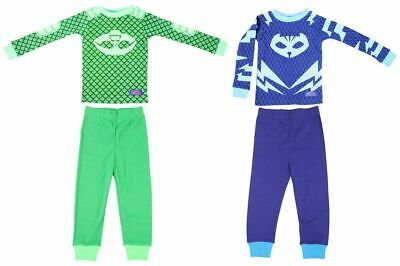 Toddler Boy's Disney PJ Masks Animatd Show Gekko Catboy 2 Cotton Sleepwear Set