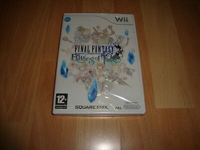 FINAL FANTASY CRYSTAL CHRONICLES ECHOES OF TIME PARA LA NINTENDO Wii NUEVO