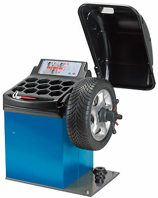 Draper Expert 81646 Semi Automatic Wheel Balancer Car Van 24 Inch Wheel Size