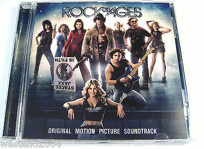 Rock Of Ages - Movie Soundtrack 2012 - NEW CD Album (sealed) Tom Cruise