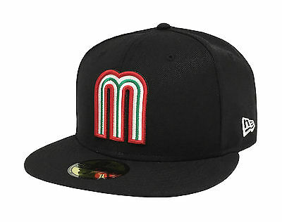 New Era 59Fifty Cap Mexico World Baseball Classic Black Fitted Hat