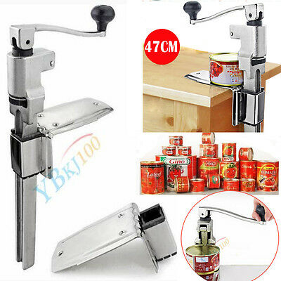 """Commercial Catering Heavy Duty Bench Top Cast Steel Large Can Tin Opener 13"""""""