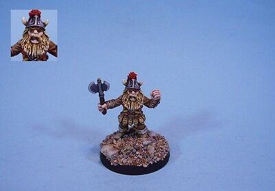 Ral Partha painted miniature Dragonlance hero Flint (30 day listing)