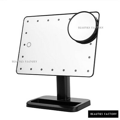 Beauties Factory Portable 20 LED Lighted Makeup Mirror Lamp Vanity 10X Magnifie