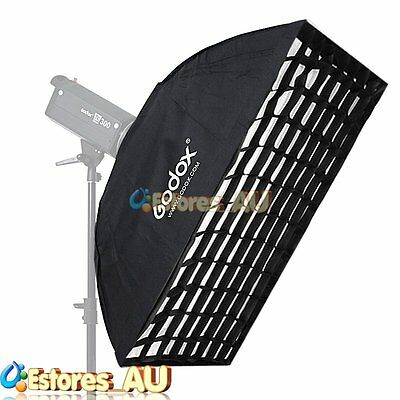 【AU】Godox SB-FW 60x90cm Grid Softbox Bowens Mount For Photo Studio Flash Strobe