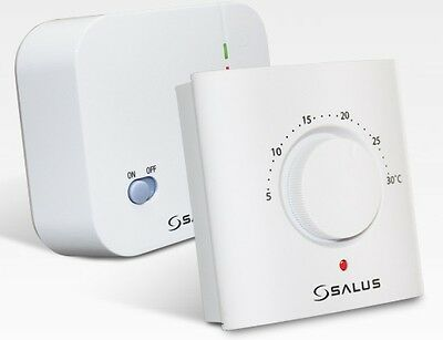 Salus ERT20RF Mechanical Manual RF Wireless Room Thermostat ERT 20RF Simple Stat