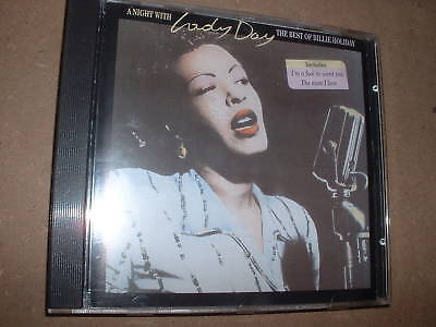 CD :  Billie Holiday a night with lady day