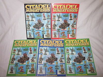 Citadel collectors catalogues multi listing please choose from list