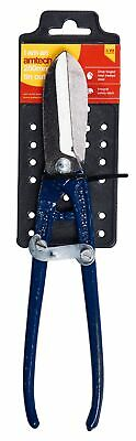 """10"""" Tin Cutter Sheet Metal Shears Cut Steel Safety Catch Professional Tool"""