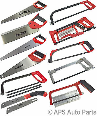 New Hand Tenon Hardpoint Toolbox Adjustable Hacksaw 4pc Saw Set Pull Saw Cutting