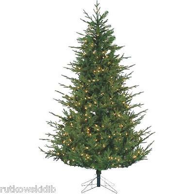 120V 6.5-Foot Gerson Chesterfield Spruce Prelit Artificial Tree With Power Pole
