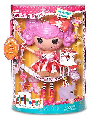 Lalaloopsy Super Silly Party Peanut Big Top Doll