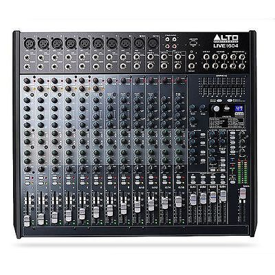 Alto Live 1604 16 Channel 4 Bus Mixer with Dynamic Control Alesis DSP and USB