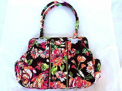 ENGLISH ROSE Vera Bradley Purse FRAME BAG New Without Tags