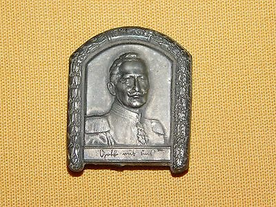 Vintage Old Tin Military Wwii Germany German Medal 1914-19? Pin