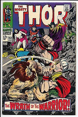 Marvel Comics - The Mighty Thor - Vol 1 #152 May 1968