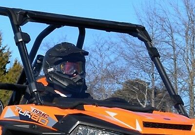 Super ATV Polaris RZR 900 / 1000 / Turbo Full Windshield Clear