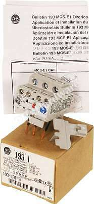 New Allen Bradley 193-EA1FB /B Solid State Overload Relay 3.7-12A Manual Reset