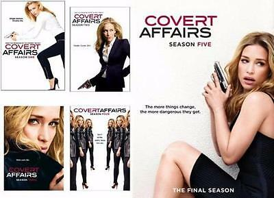 Covert Affairs; Seasons 1-5