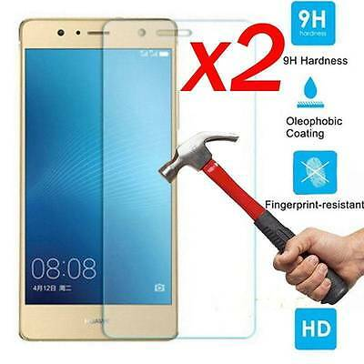 2Pcs 9H+ Premium Tempered Glass Cover Screen Protector For Huawei Ascend P9 Lite