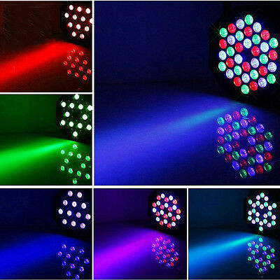 New 36 Led Par Can Disco light RGB DMX512 DJ Club party Stage Lighting Effects