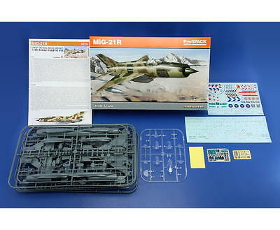 EDUARD 8238 MiG-21R Soviet Supersonic Fighter in 1:48 ProfiPACK!!