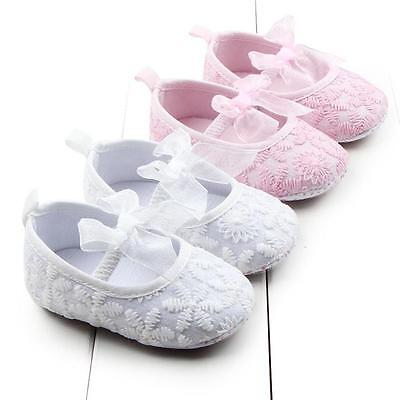 Toddler Baby Boys Girls Canvas Anti-Slip Shoes Sneakers Kid Soft Sole Crib Shoes