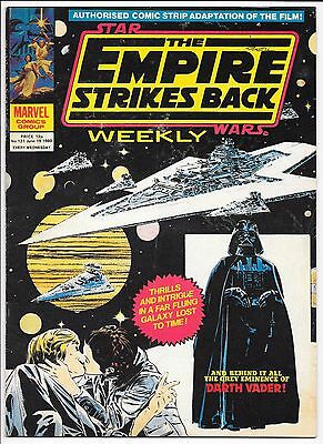 """Marvel Comics - Star Wars Weekly """"The Empire Strikes Back"""" - #121 June 19th 1980"""