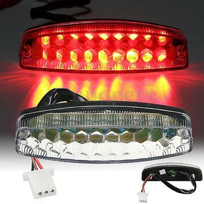Red LED Rear Tail Brake Light For 50 70 110 125cc ATV TaoTao Nst Sunl Chinese