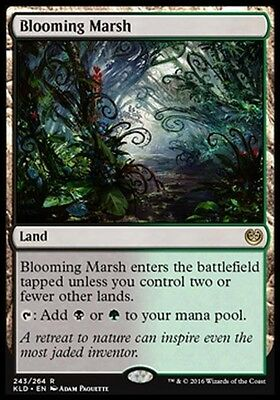 PALUDE FIORENTE - BLOOMING MARSH Magic KLD Kaladesh