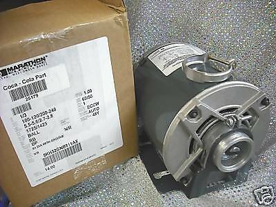 PROCON PUMP MOTOR Soda Carbonation Circulating, CLAMP,  115 or 230 Volts 1/3 HP