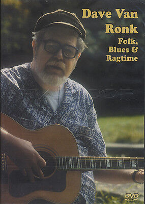 Dave Van Ronk Folk Blues & Ragtime Learn How To Play Guitar Tuition DVD