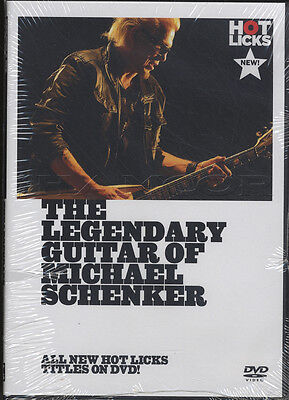 The Legendary Guitar of Michael Schenker Tuition DVD Learn How To Play Scorpions