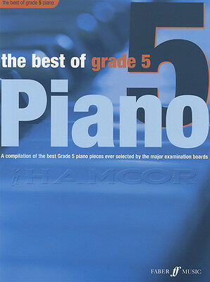 The Best of Grade 5 Piano Sheet Music Book
