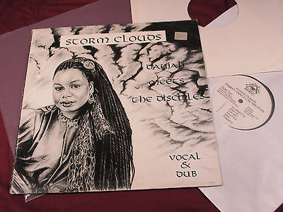 Dayjah meet the Disciples STORM CLOUDS  -  LP Third Eye UK 1994 near mint