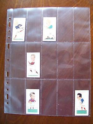 MULTIMASTER SYSTEM QUALITY 15 Pocket CIGARETTE CARD PAGES Pack 10
