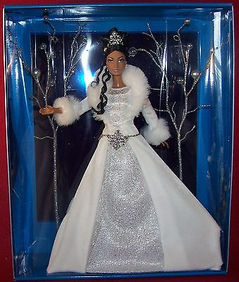 Mattel Holiday Christmas Visions Winter Fantasy 1st in Series White AA MIB NRFB