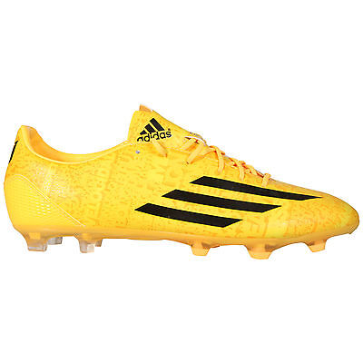 New Adidas F30 Fg Messi Yellow Firm Ground Mens Unisex Football Boots Uk 6.5-11