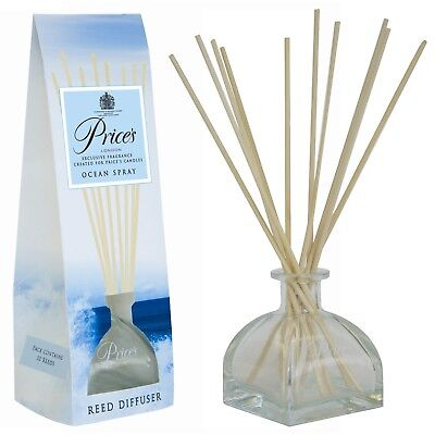 Prices Reed Diffuser Room Fragrance Ocean Spray 100ml Aroma Gift Boxed Xmas New