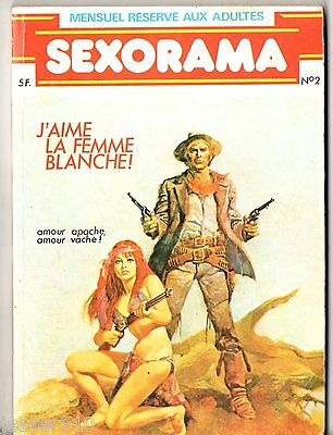 ¤  SEXORAMA n°2  ¤ 1979 campus editions (NO ELVIFRANCE)
