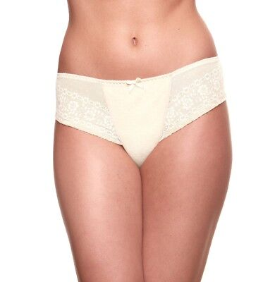 Bravado Maternity Brief Ivory Cream Lace Size Xl/16-18 Sublime Knickers Pant New