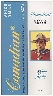 Canadian Canadian - Nuovo Canadian Anice Smile Dentifricio Sbiancante  75Ml - 97