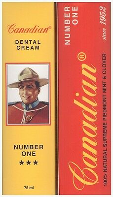 Canadian Nuovo Canadian Number One Dentifricio 75Ml