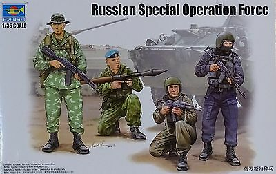 TRUMPETER® 00437 Russian Special Operation Forces Figuren in 1:35