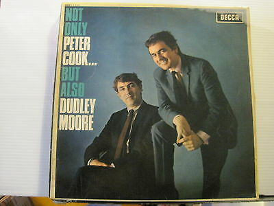 Peter Cook & Dudley Moore - Not Only But Also - Vinyl Lp -Free UK Post