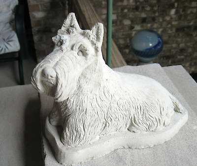 Concrete Scottish Terrier Statue Or Use As A Monument